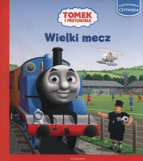 okładka Tomek i przyjaciele Wielki mecz, Książka |