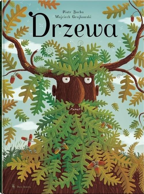 okładka Drzewa, Książka | Grajkowski Wojciech