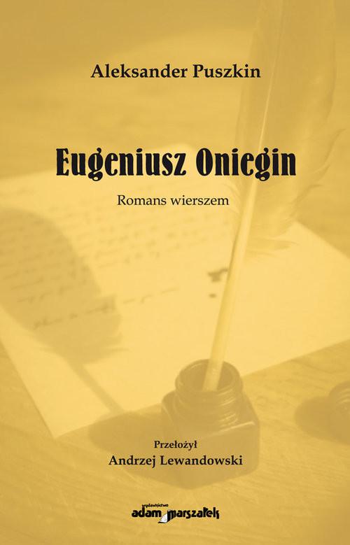 okładka Eugeniusz Oniegin Romans wierszem, Książka | Aleksander Puszkin