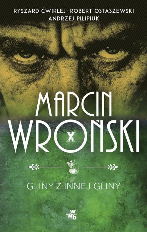 okładka Gliny z innej gliny, Książka | Marcin Wroński, Andrzej Pilipiuk, Ostaszewski