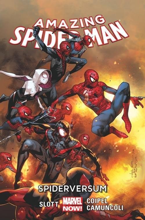 okładka Amazing Spider-Man Tom 3 Spiderversumksiążka |  | Dan Slott, Giuseppe Camuncoli, Olivier Coipel
