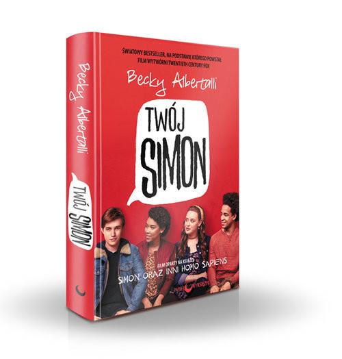 okładka Twój Simon Simon oraz inni homo sapiens. KsiążkaAlbertalli Becky