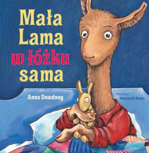 okładka Mała Lama w łóżku sama, Książka   Dewdney Anna