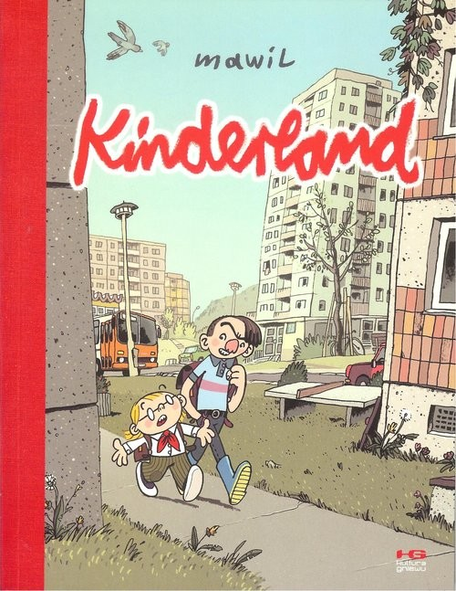 okładka Kinderland, Książka | Mawil