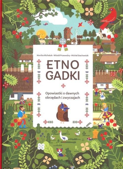 okładka Etnogadki, Książka |
