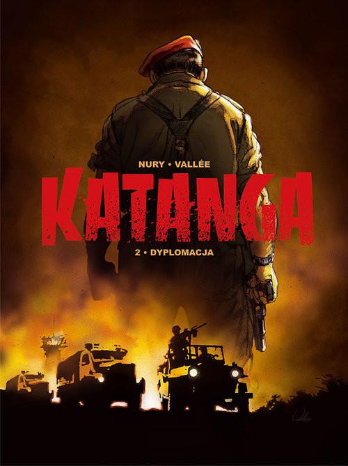 okładka Katanga 2 Dyplomacja, Książka | Fabien Nury, Sylvain Vallee