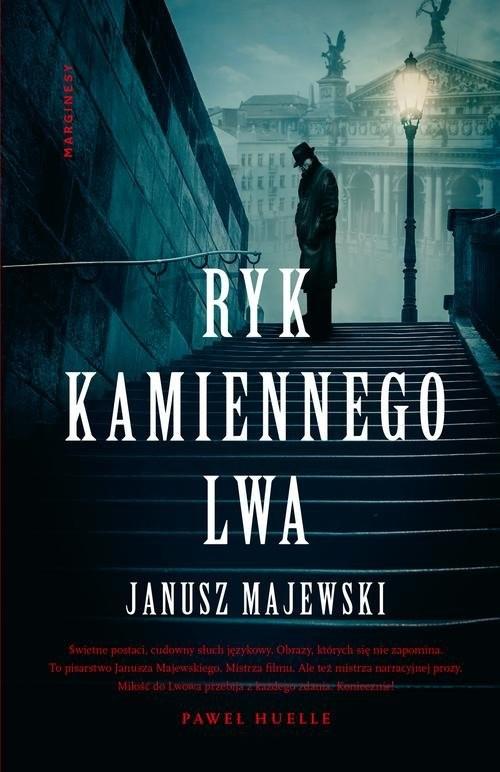 okładka Ryk kamiennego lwa, Książka | Majewski Janusz