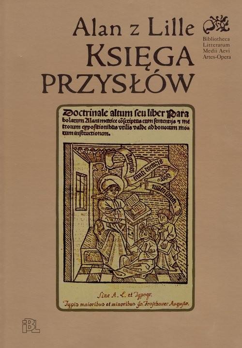 okładka Księga przysłów, Książka   z Lille Alan