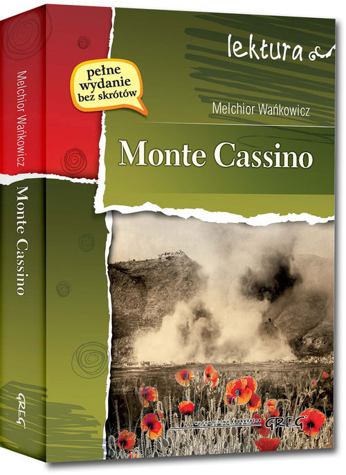 okładka Monte Cassino, Książka | Wańkowicz Melchior