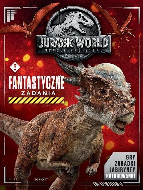 okładka Jurassic World 2 Fantastyczne zadania, Książka | Pallant Katrina