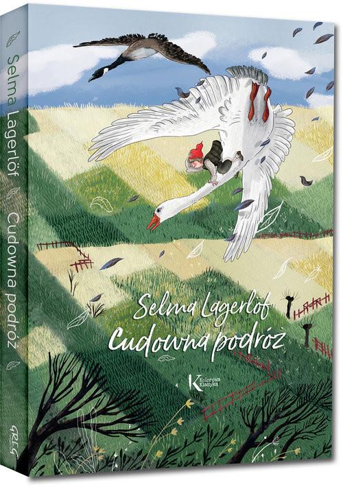 okładka Cudowna podróżksiążka      Lagerlof Selma