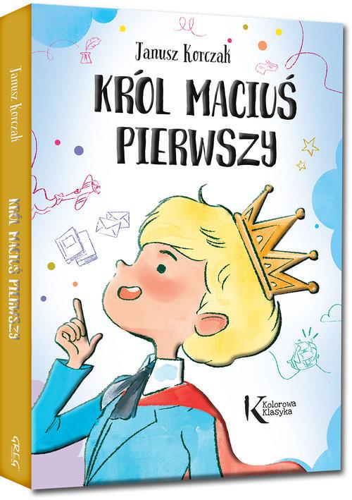 okładka Król Maciuś Pierwszyksiążka      Korczak Janusz
