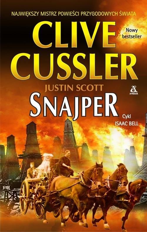 okładka Snajper, Książka | Cussler Clive, Justin Scott