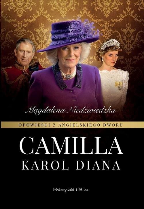 okładka Opowieści z angielskiego dworu Camilla, Książka | Magdalena Niedźwiedzka