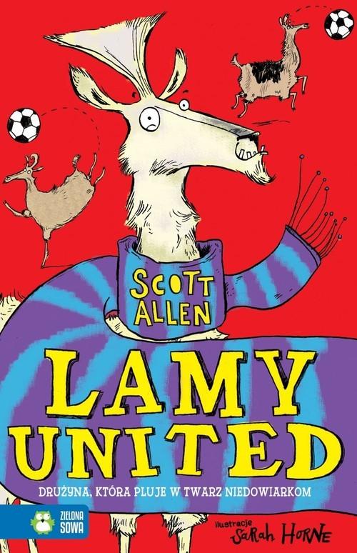 okładka Lamy United, Książka | Allen Scott