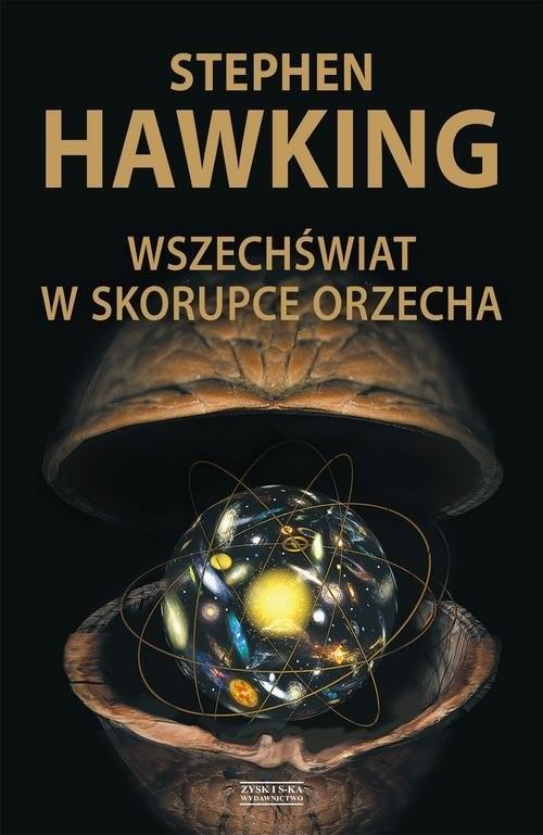 okładka Wszechświat w skorupce orzechaksiążka      Stephen Hawking