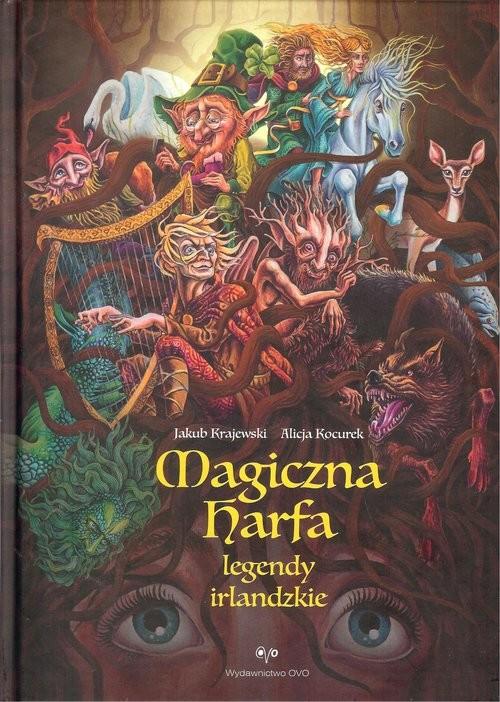 okładka Magiczna harfa, Książka |