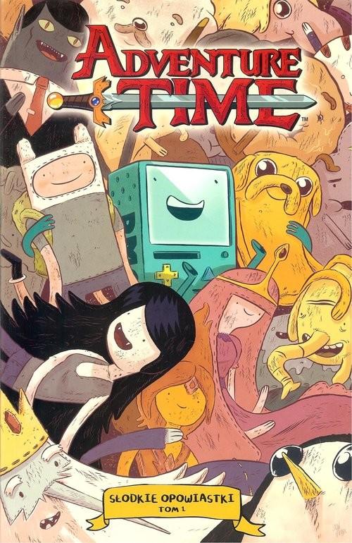 okładka Adventure time. Słodkie opowiastki 1 / Studio JG, Książka   Praca Zbiorowa