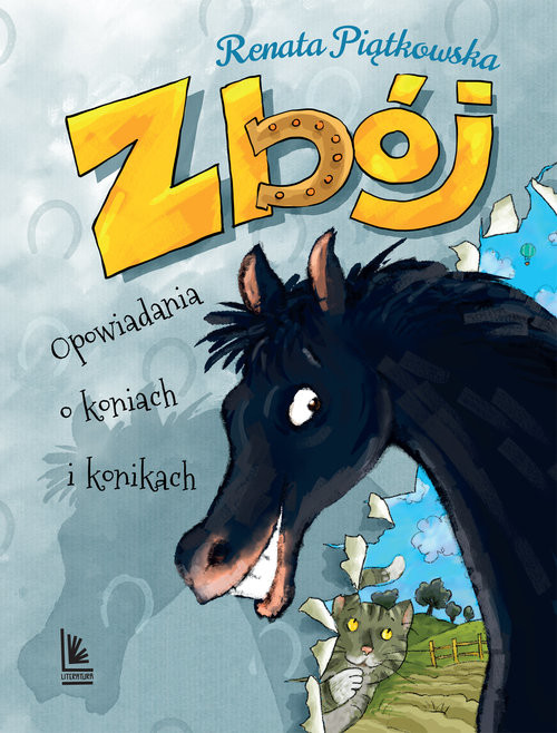 okładka Zbój Opowiadania o koniach i konikach, Książka | Piątkowska Renata