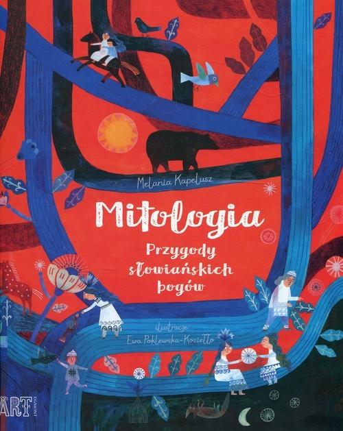 okładka Mitologia Przygody słowiańskich bogów, Książka | Kapelusz Melania
