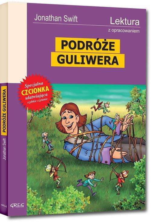 okładka Podróże Guliwera Lektura z opracowaniem, Książka | Jonathan Swift