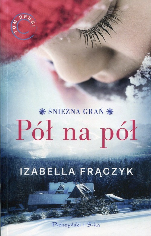 okładka Pół na pół, Książka | Frączyk Izabela
