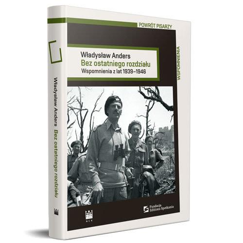 okładka Bez ostatniego rozdziału Wspomnienia z lat 1939-1946, Książka | Anders Władysław