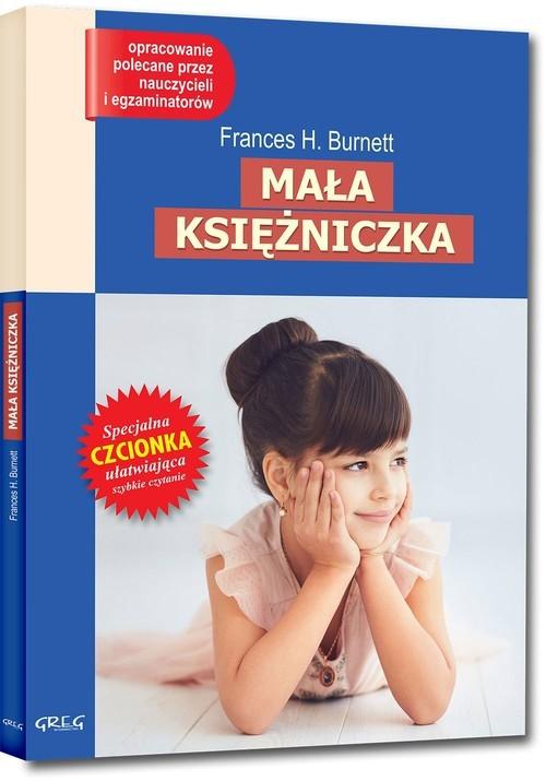 okładka Mała księżniczka Wydanie z opracowaniem, Książka | Frances Hodgson Burnett