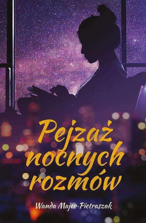 okładka Pejzaż nocnych rozmów, Książka | Wanda  Majer-Pietraszak