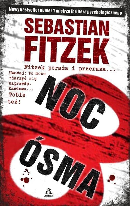 okładka Noc Ósma, Książka | Fitzek Sebastian