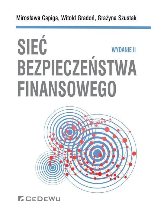 okładka Sieć bezpieczeństwa finansowego (wyd. II), Książka | Capiga Mirosława, Gradoń Witold, Szus Grażyna
