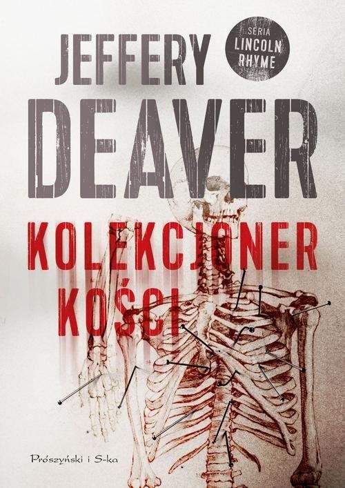 okładka Kolekcjoner kości, Książka   Deaver Jeffery