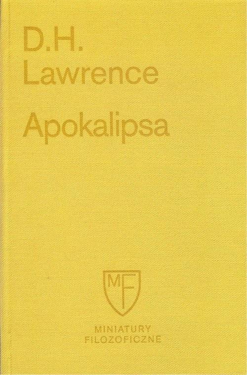 okładka Apokalipsa, Książka | Lawrence D.H.