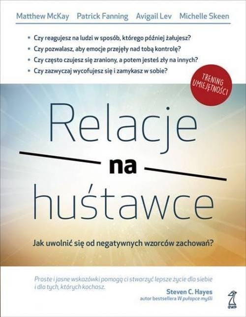 okładka Relacje na huśtawce, Książka |