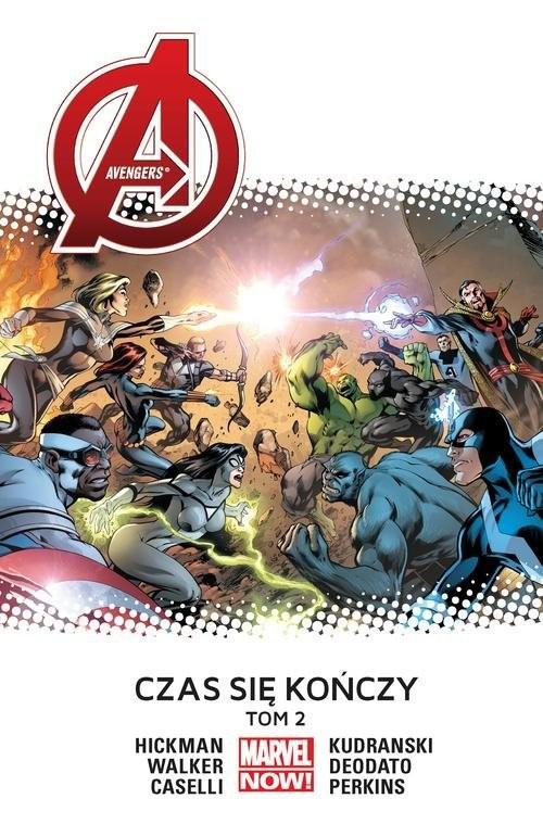 okładka Avengers Czas się kończy tom 2, Książka | Jonathan Hickman, Stefano Caselli, Mi Deodato