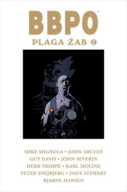 okładka Plaga żab 2książka      Mike Mignola, Guy Davis