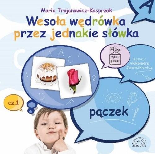 okładka Wesoła wędrówka przez jednakie słówka, Książka | Trojanowicz-Kasprzak Maria