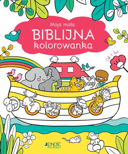 okładka Moja mała biblijna kolorowanka, Książka   Sophie Mullenheim, Sejung Kim