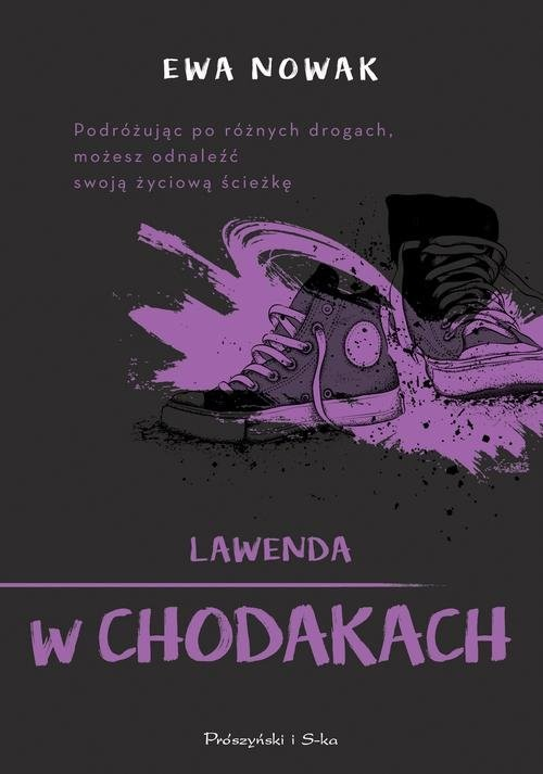 okładka Lawenda w chodakach, Książka | Ewa Nowak