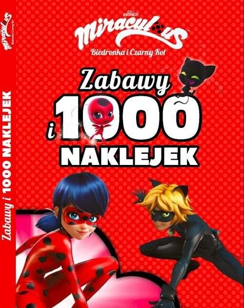 okładka Biedronka i Czarny Kot Zabawy i 1000 naklejekksiążka |  |