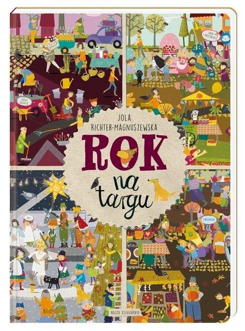 okładka Rok na targu, Książka | Jola Richter-Magnuszewska, Richter-Magnuszews