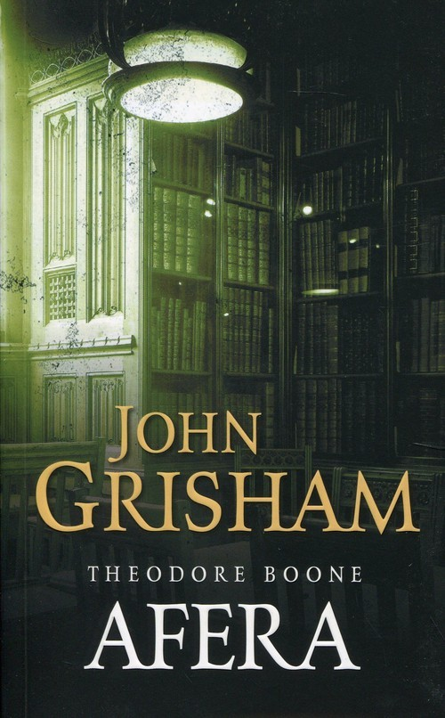 okładka Afera Theodore Boone, Książka | Grisham John