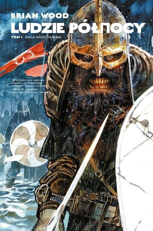 okładka Saga anglosaska Tom 1, Książka | Wood Brian, Dean Ormston, Daniel Žeželj, Gian