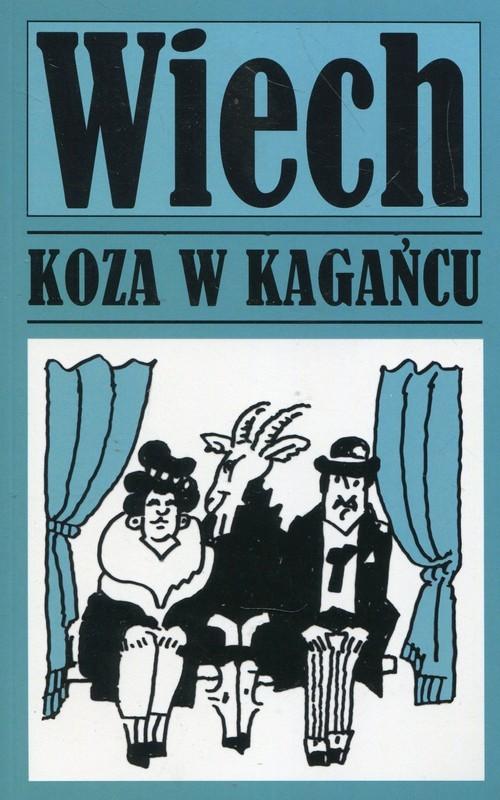 okładka Opowiadania powojenne Tom 5 Koza w kagańcu, Książka | Wiechecki Stefan Wiech