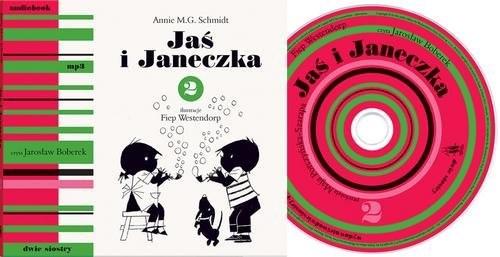 okładka Jaś i Janeczka 2 + CD, Książka | Schmidt Annie M.G.