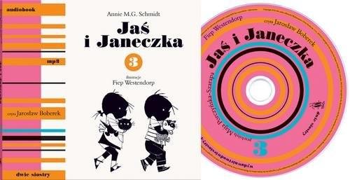 okładka Jaś i Janeczka 3 + CD, Książka | Schmidt Annie M.G.