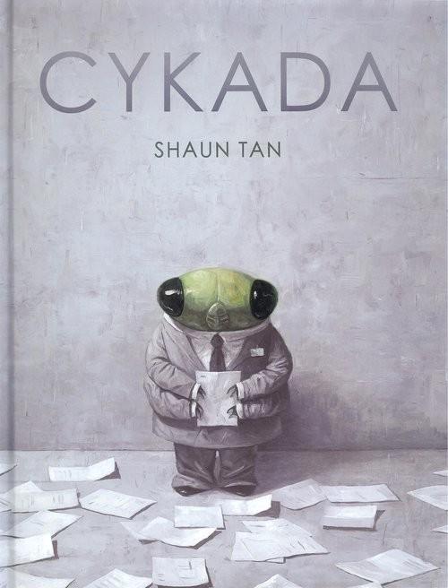 okładka Cykada, Książka   Tan Shaun
