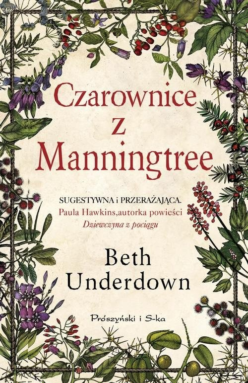 okładka Czarownice z Manningtree, Książka   Underdown Beth