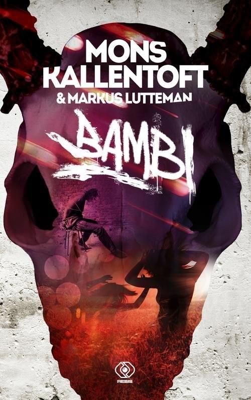 okładka Herkules Tom 3 Bambi, Książka | Mons Kallentoft