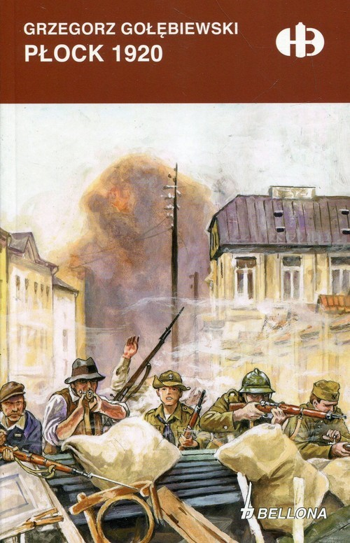 okładka Płock 1920książka      Gołębiewski Grzegorz